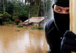 flood robbery lanka