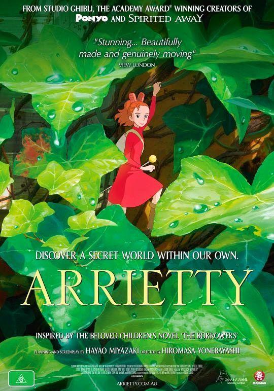 The Secret World of Arrietty อาริเอตี้ มหัศจรรย์ความลับคนตัวจิ๋ว [HD][พากย์ไทย]