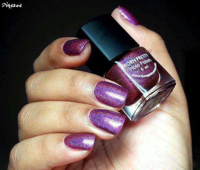Born pretty holo polish #24