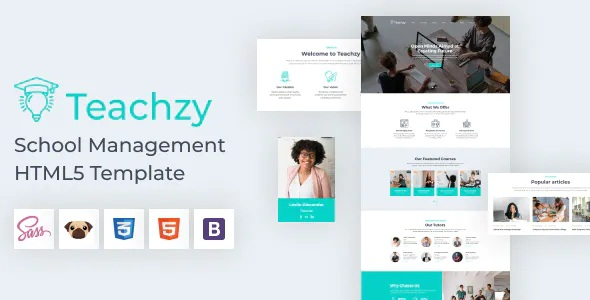 Best School Management HTML 5 Template
