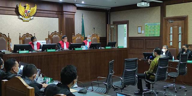 Pimpin Sidang Juliari Batubara, Ketua PN Jakarta Pusat: Jangan Pernah Berfikir Suap Hakim!