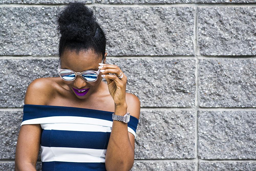 Summer Fashion: Stripe Midi Dress