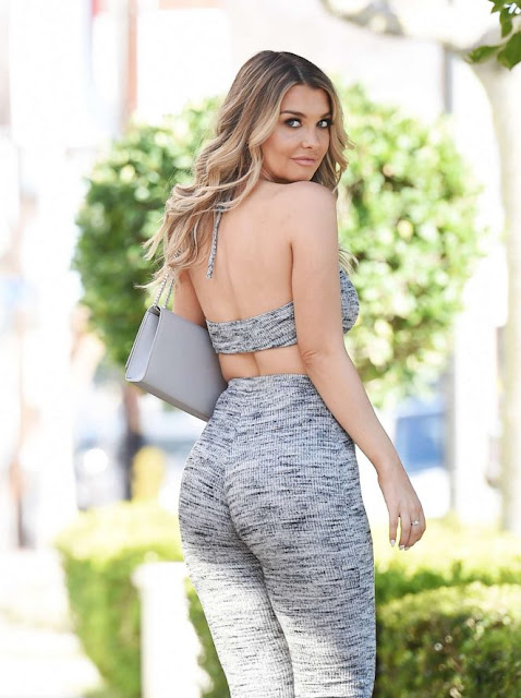 Emily Sears on a photoshoot in Los Angeles