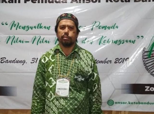 Mantan Ketua HTI Bangka Belitung Ikut Kaderisasi Ansor Kota Bandung