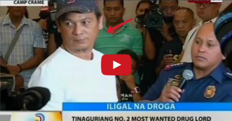 Central Visayas 2nd most wanted drug lord surrenders to PNP chief