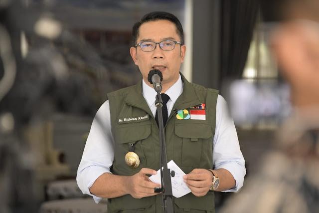 Ridwan Kamil  Sepakat Usulan Penghentian KRL untuk Cegah Penularan Corona