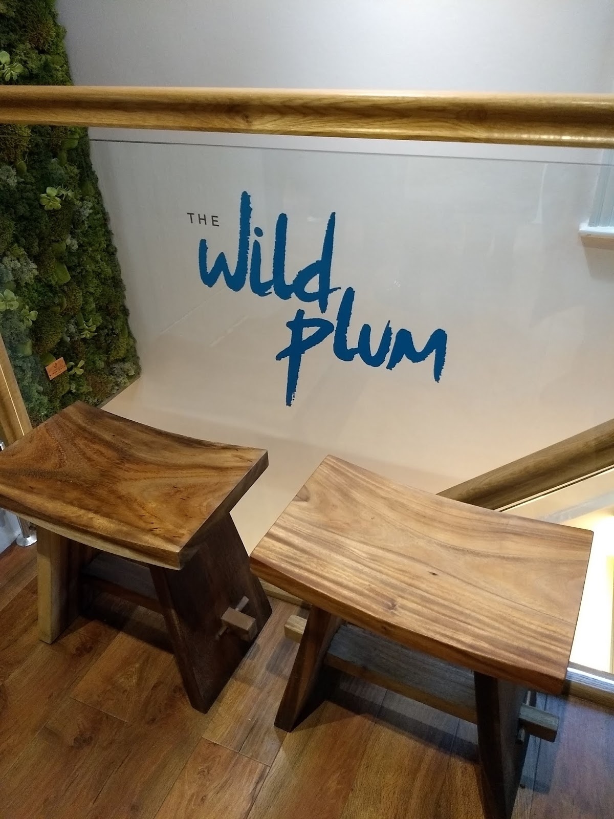 Image of Staircase in the wild plum.