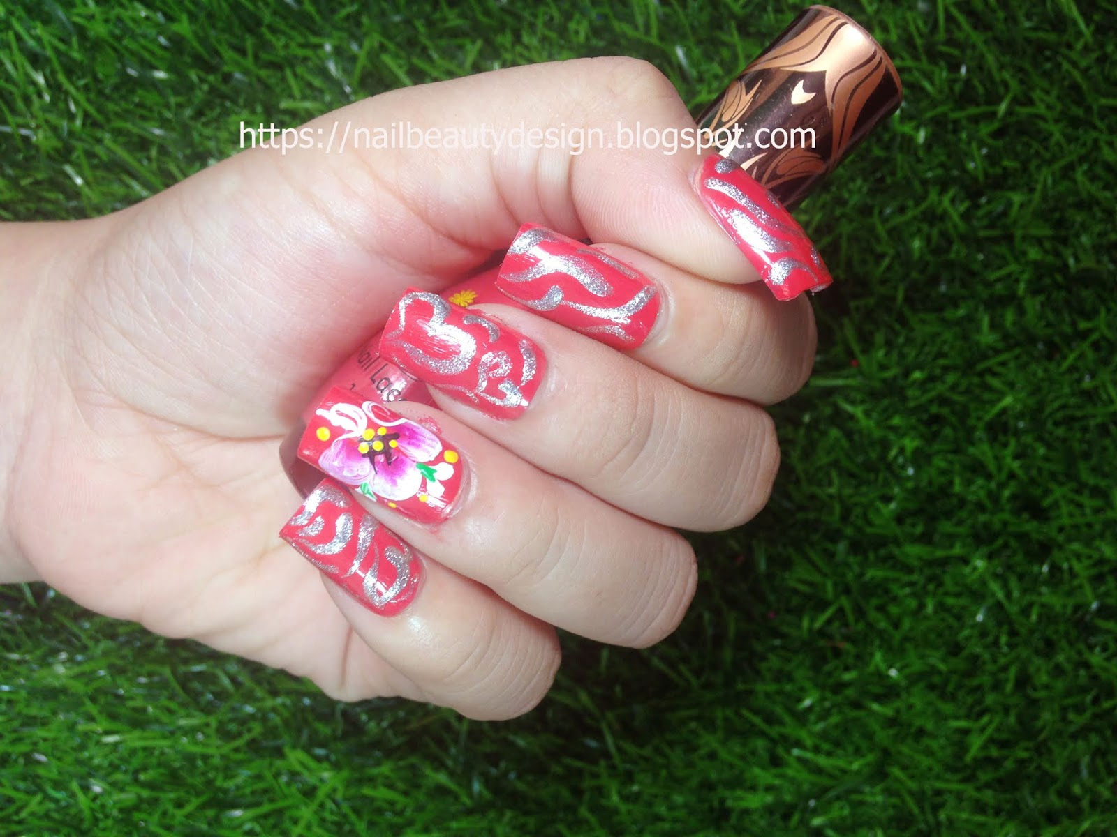 Simple Beautiful Nails Art Designs You Can Try At Home 10 Nail