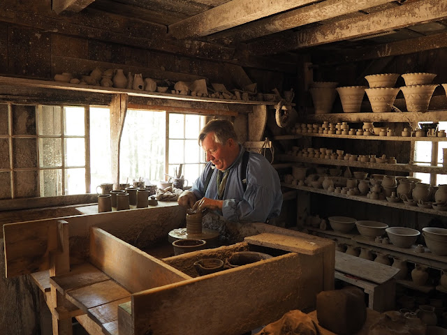 Old Sturbridge Village--potter