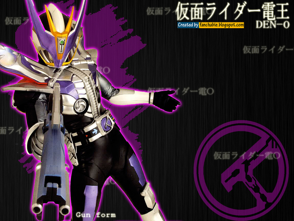 Best Wallpaper: Kamen Rider Den-O Gun Form Wallpaper