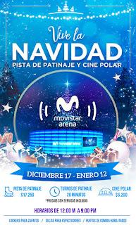POZ VIVE LA NAVIDAD Movistar arena Bogota
