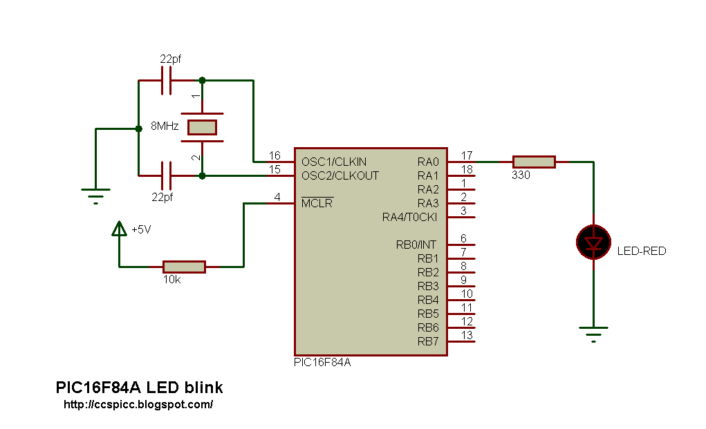 Introduction To Microcontrollers Programming The Pic16f84a