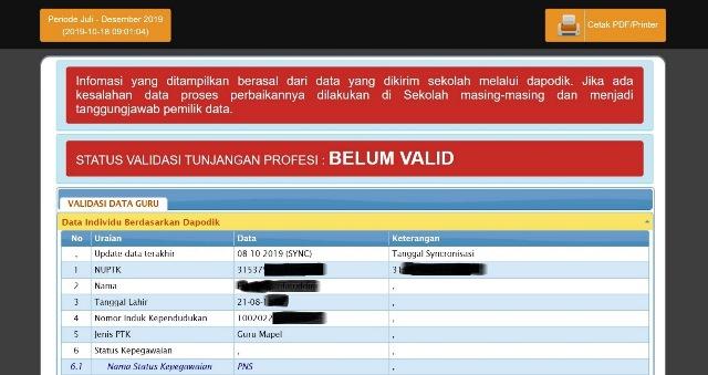 Cara Membuka Info GTK Lewat Management | Akun OPS Dapodik