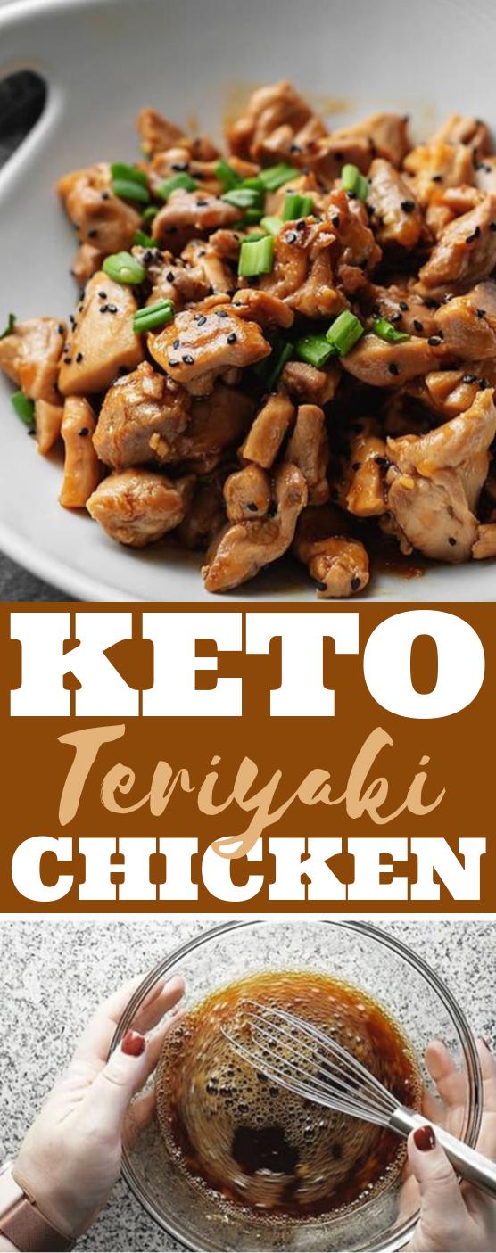 Keto Teriyaki Chicken #lowcarb #dinner