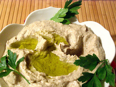 Baba Ganoush After a lot of Dipping