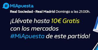 william hill Promo Real Sociedad vs Real Madrid 20-9-2020