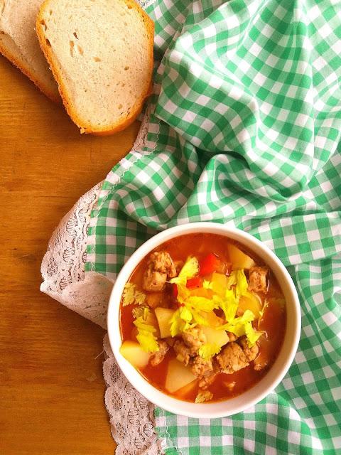 Zupa z kiełbasą i ziemniakami / Sausage Potato Soup
