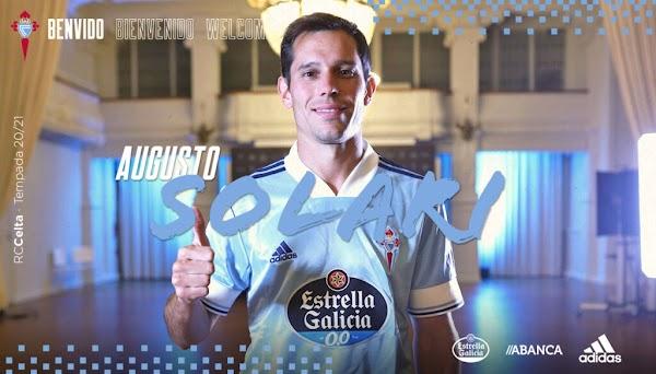 Oficial: Celta de Vigo, firma Augusto Solari