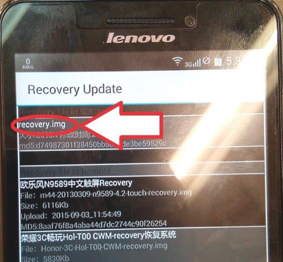 Custom ROM Lenovo A5000