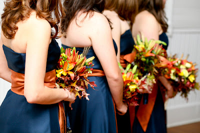 Colorful Flowers For Your Autumn Wedding
