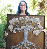 Love locks tree  Tree of life  by eileenAart