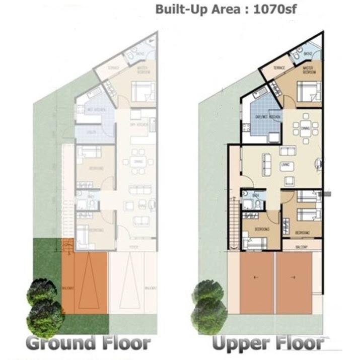 2 Storey Townhouse Designs