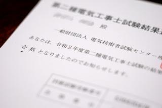 試験通知書