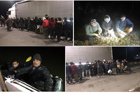 24 óra alatt 68 határsértő Csongrád megyében