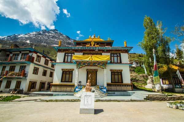 Lahaul & Spiti Tourist Attraction : Kardang Monastery