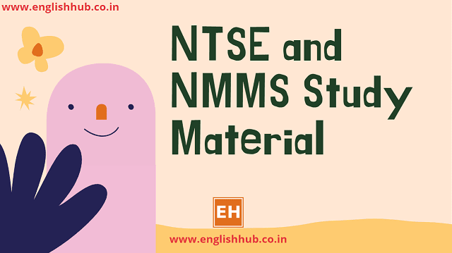NTSE and NMMS Study Material