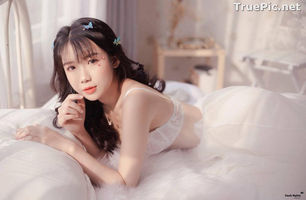 Image Vietnamese Cute Girl - Tran Thi Anh Thu - Beautiful White Butterfly - TruePic.net - Picture-6
