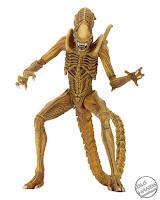 "San Diego Comic-Con 2017 NECA Exclusive Alien 7"" Scale Action Figure Sewer Mutation Warrior Alien"