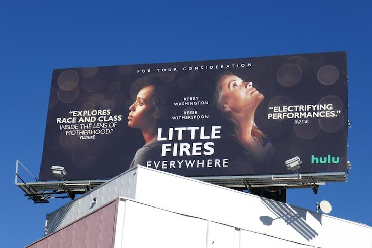 Little Fires Everywhere Winter 2020 FYC billboard