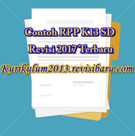 Contoh RPP K13 Revisi 2017