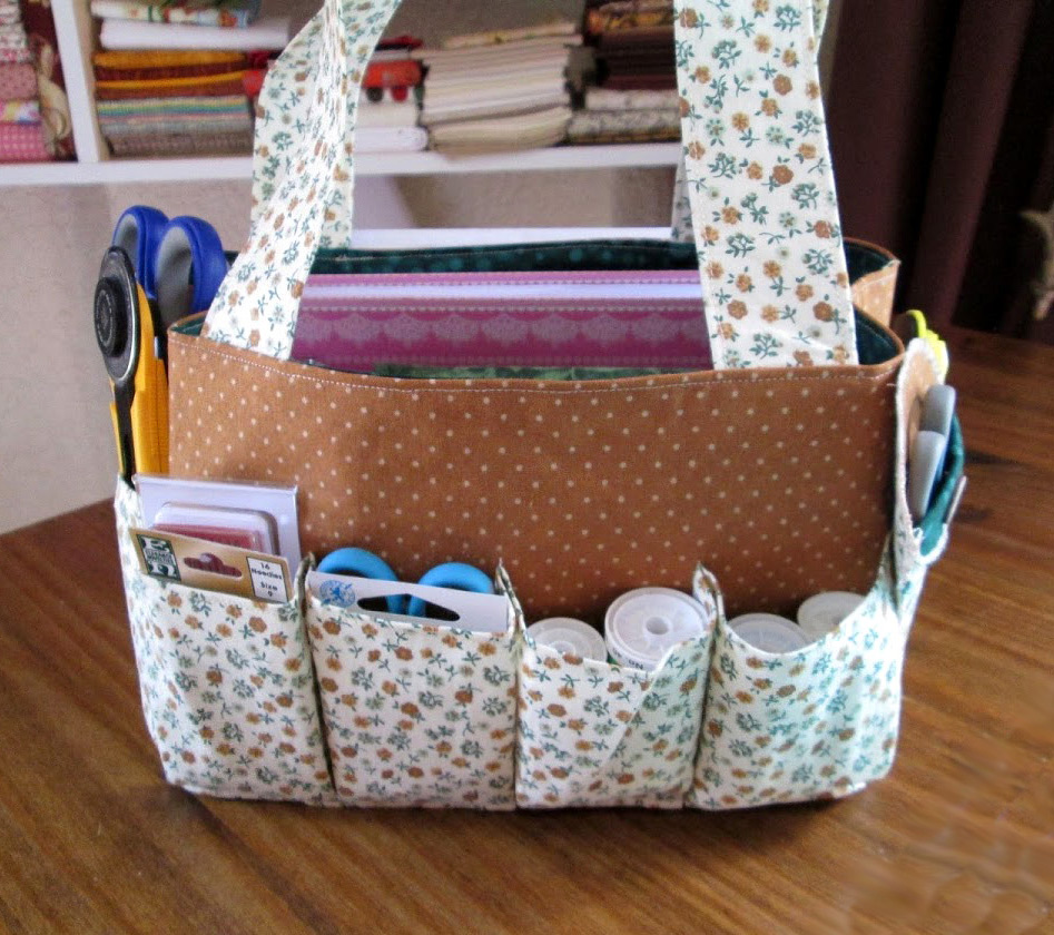 Travel Sewing / Craft Bag Pattern & Tutorial