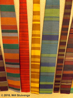 Picture of several more Ernst ties close up