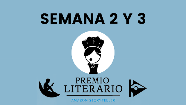 premio literario amazon storyteller 2021