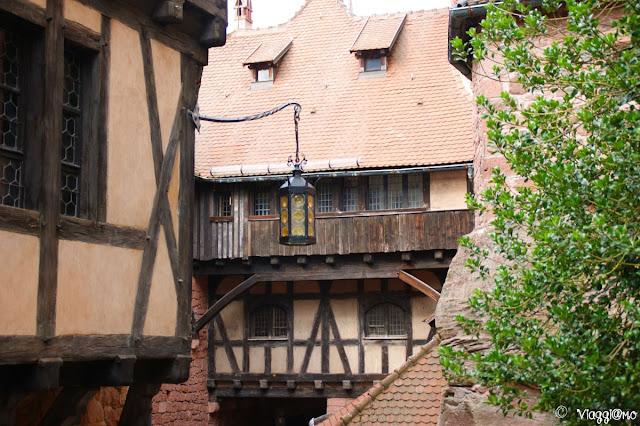 Edifici appartenenti al castello di Haut Koenigsbourg