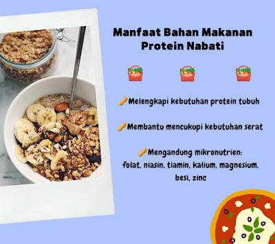 manfaat protein nabati