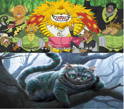 Nekomamushi Cheshire cat Alice in Wonderland