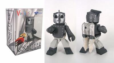 New York Comic Con 2020 Exclusive Rocketeer Noir Edition Vinimates Vinyl Figure by Diamond Select Toys