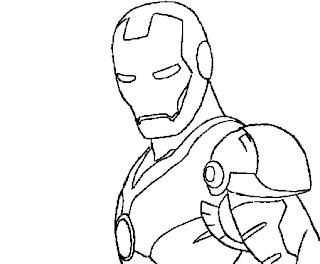 Desenhos Do Homem de Ferro Para Colorir