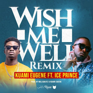 "I did ""WISH ME WELL REMIX"" because I wanted to prove that it wasn't a stolen song - Kuami Eugene"