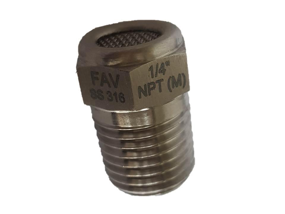 SS 316 High Pressure Hex Nipple, 1/4