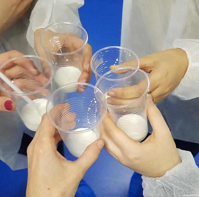 Visite de l'usine Modilac (lait bébé)
