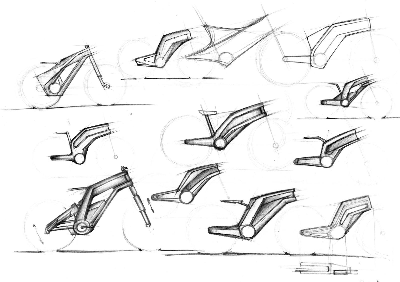 Bicycle Sketch