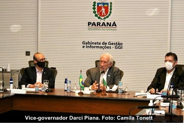 Paraná: Governo quer atrair mais investimentos produtivos para os municípios