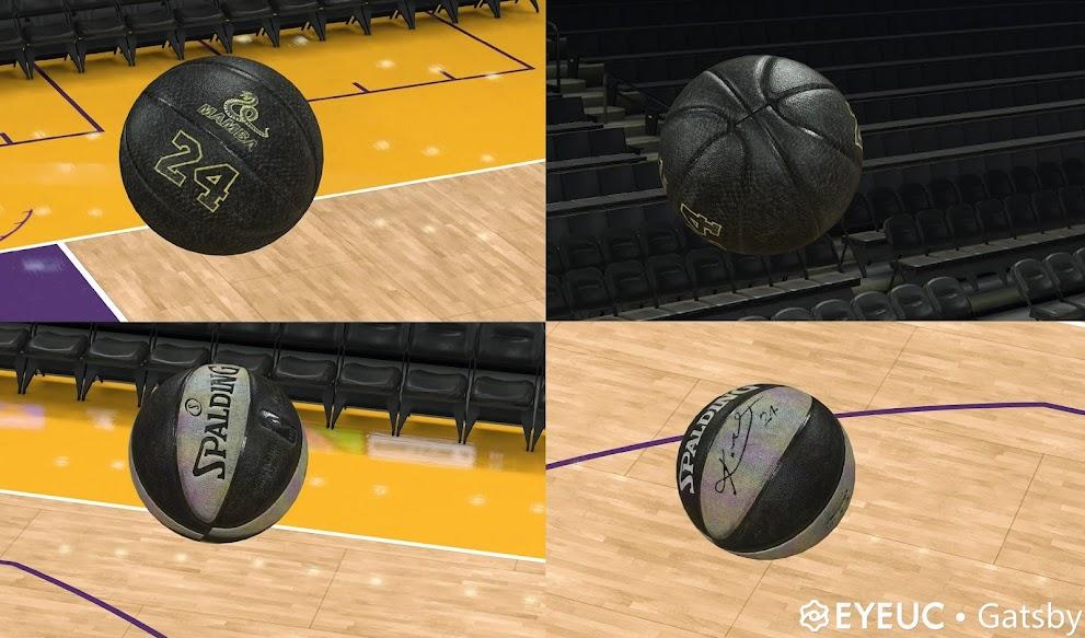 NBA 2K22 Black Mamba Ball V2.0 By gatsby