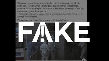 É #FAKE que produtos importados da China podem conter coronavírus