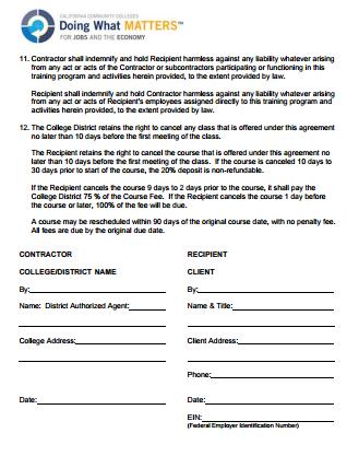 image regarding Free Printable Independent Contractor Agreement called very simple contractor arrangement